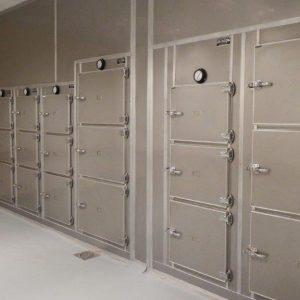 De Aar Hospital Mutuary Refridgiration room